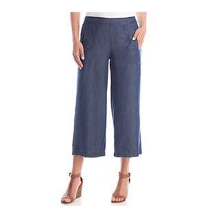 Rafaella Wide Leg Crop Pants